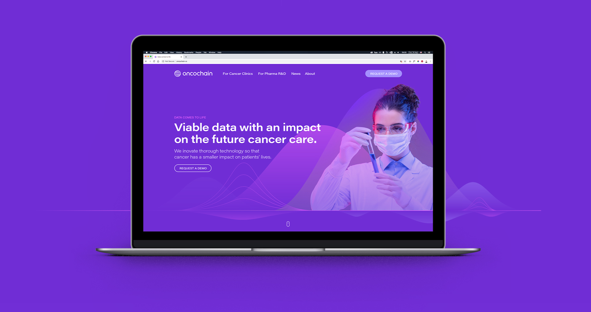 Oncochain_website